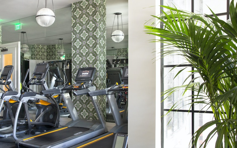The Madelon Apartmnts has a brand new fitness center