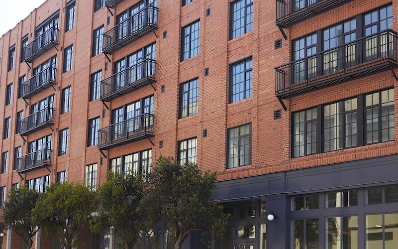Brick Exterior Apartments in San Francisco